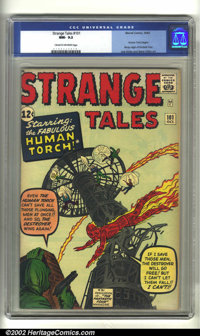 Strange Tales #101 (Marvel, 1962) CGC NM- 9.2 Cream to off-white pages. CGC has graded only one copy of this book higher...
