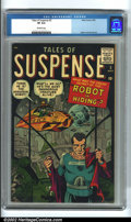 Silver Age (1956-1969):Science Fiction, Tales of Suspense #2 (Marvel, 1959) CGC VF 8.0 Off-white pages. Every collector who knows early Marvel understands how impos...