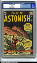 Silver Age (1956-1969):Superhero, Tales to Astonish #36 (Marvel, 1962) CGC VF+ 8.5 Off-white to white pages. Ant-Man makes his third appearance in this classi...