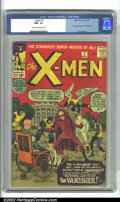 Silver Age (1956-1969):Superhero, X-Men #2 (Marvel, 1963) CGC NM- 9.2 Cream to off-white pages. Thesecond issue of Marvel's popular mutant title sports an in...