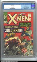 Silver Age (1956-1969):Superhero, X-Men #12 (Marvel, 1965) CGC NM 9.4 Off-white pages. Here is one ofthe finest examples of this issue in existence! CGC has...