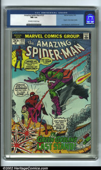 The Amazing Spider-Man #122 Edenwald pedigree (Marvel, 1973) CGC NM 9.4 Off-white to white pages. Considering the succes...