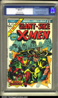 Bronze Age (1970-1979):Superhero, Giant-Size X-Men #1 (Marvel, 1975) CGC NM 9.4 Cream to off-whitepages. This is the first appearance of the new X-Men, and f...