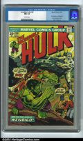 Bronze Age (1970-1979):Superhero, The Incredible Hulk #180 Edenwald pedigree (Marvel, 1974) CGC NM9.4 Off-white pages. Wolverine makes his very first cameo a...