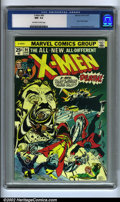 Bronze Age (1970-1979):Superhero, X-Men #94 (Marvel, 1975) CGC NM- 9.2 Off-white to white pages. Theoriginal Silver Age-conceived X-Men was stagnant; it ...
