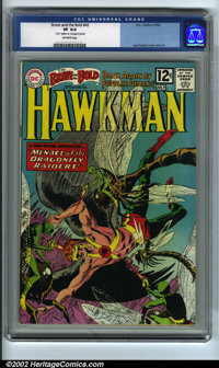 The Brave and the Bold #42 (DC, 1962) CGC VF 8.0 Off-white pages. Hawkman begins his second tryout series in this issue...