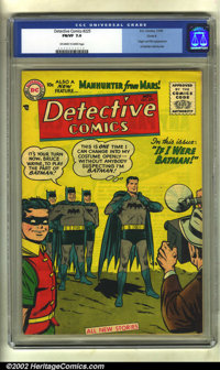 Detective Comics #225 Circle 8 pedigree (DC, 1955) CGC FN/VF 7.0 Off-white to white pages. This book features the first...
