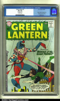 Silver Age (1956-1969):Superhero, Green Lantern #1 (DC, 1960) CGC VF+ 8.5 Off-white pages. Here is areally nice copy of this key first issue, which features ...