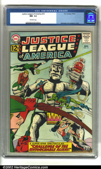 Justice League of America #15 (DC, 1962) CGC NM- 9.2 Off-white pages. Wonder Woman, Green Lantern, the Flash, and the re...