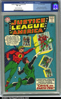 Silver Age (1956-1969):Superhero, Justice League of America #22 (DC, 1963) CGC VF+ 8.5 Cream to off-white pages. In a brilliant move at DC, the JSA and JLA me...