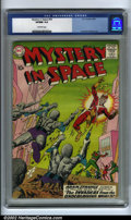 Silver Age (1956-1969):Science Fiction, Mystery in Space #54 (DC, 1959) CGC VF/NM 9.0 Off-white pages.Artist Carmine Infantino came into his own during the early y...