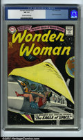 Silver Age (1956-1969):Superhero, Wonder Woman #105 (DC, 1959) CGC NM 9.4 Off-white to white pages. Calling all Wonder Woman fanatics! Copies of #105 rarely t...