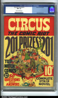 Golden Age (1938-1955):Humor, Circus the Comic Riot #1 (Globe Syndicate, 1938) CGC NM- 9.2 Cream to off-white pages. This scarce issue has Basil Wolverton...