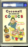 Golden Age (1938-1955):Humor, Cocomalt Big Book of Comics #1 (Chesler, 1938) CGC FN+ 6.5 Cream to off-white pages. This extremely scarce Cocomalt promotio...