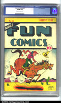 Golden Age (1938-1955):Humor, More Fun Comics #23 (DC, 1937) CGC VF/NM 9.0 Cream to off-white pages. Pre-hero issues of More Fun are incredibly rare. ...