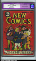 Golden Age (1938-1955):Non-Fiction, New Comics #11 (DC, 1936) CGC Apparent VF- 7.5 Slight (A) Cream tooff-white pages. This significant title began the same ye...