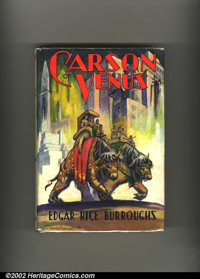 Carson of Venus by Edgar Rice Burroughs First Edition (Edgar Rice Burroughs, Inc., 1939). This is a fantastic, high-grad...