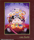 Memorabilia:Comic-Related, Fine Art of Walt Disney's Donald Duck, The (Another Rainbow Publishing, Inc., 1981). Fans of Carl Barks will adore this hard...