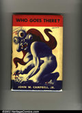 Memorabilia:Science Fiction, Who Goes There? First Edition (Shasta Publishers, 1947). John W. Campbell, Jr. signed this first edition on the first blank ...