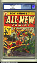 Golden Age (1938-1955):Superhero, All-New Comics #6 Mile High pedigree (Harvey, 1943) CGC NM+ 9.6 White pages. Superlatives abound with this gorgeous book, st...
