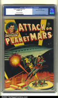Golden Age (1938-1955):Science Fiction, Attack on Planet Mars #nn Mile High pedigree (Avon, 1951) CGC VF/NM9.0 Off-white to white pages. Wally Wood, Carmine Infant...