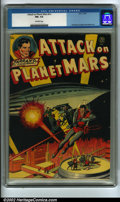 Golden Age (1938-1955):Science Fiction, Attack on Planet Mars #nn (Avon, 1951) CGC FN+ 6.5 Off-white pages.A great Avon sci-fi adaptation packed with great art by ...