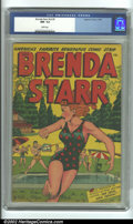 Golden Age (1938-1955):Crime, Brenda Starr V2, #5 (Superior, 1948) CGC NM- 9.2 White pages. Brenda Starr never looked finer than in her star-spangled bath...