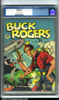 Golden Age (1938-1955):Science Fiction, Buck Rogers #1 (Eastern Color, 1940) CGC VG/FN 5.0 Cream tooff-white pages. First created in 1928, Buck has endured with so...