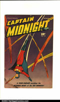 Golden Age (1938-1955):Superhero, Captain Midnight Lot (Fawcett, 1942-48). This lot consists of 15 different Captain Midnight comics. They are as follows:... (Total: 15 Comic Books Item)