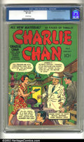 Golden Age (1938-1955):Crime, Charlie Chan #1 (Crestwood/Headline, 1948) CGC VF 8.0 Off-white pages. Here is an example of one of the most enduring crime ...