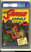 Golden Age (1938-1955):Superhero, Doc Savage Comics #1 Mile High pedigree (Street and Smith, 1940) CGC VF+ 8.5 Off-white to white pages. From the early days o...