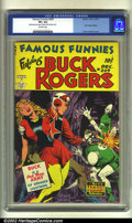 Golden Age (1938-1955):Science Fiction, Famous Funnies #209 (Eastern Color, 1953) CGC VF+ 8.5 Off-whitepages. Featuring a dynamic cover by the incomparable Frank F...