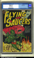 Golden Age (1938-1955):Science Fiction, Flying Saucers #1 White Mountain pedigree (Avon, 1950) CGC FN/VF7.0 Off-white to white pages. This is the White Mountain co...