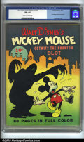 Golden Age (1938-1955):Cartoon Character, Four Color Comics #16 (Dell, 1941) CGC VG+ 4.5 Cream to off-white pages. This is the very first Mickey Mouse comic book. Mic...