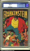 Golden Age (1938-1955):Adventure, Frankenstein #2 Mile High pedigree (Prize, 1946) CGC NM- 9.2 Off-white pages. One of the gems of the Golden Age, Frankenstei...