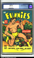 Golden Age (1938-1955):Adventure, Funnies #50 Mile High pedigree (Dell, 1940) CGC NM/MT 9.8 Off-white to white pages. For anyone who questions the quality of ...