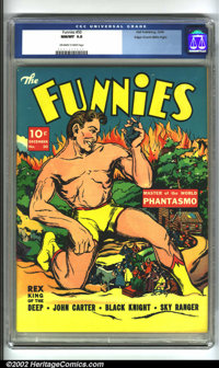 Funnies #50 Mile High pedigree (Dell, 1940) CGC NM/MT 9.8 Off-white to white pages. For anyone who questions the quality...