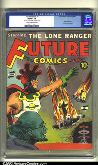 Future Comics #1 (David McKay Publications, 1940) CGC FN/VF 7.0 Cream to off-white pages. This relatively innocent appea...