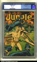 Golden Age (1938-1955):Adventure, Jungle Comics #80 Big Apple pedigree (Fiction House, 1946) CGC NM+ 9.6 Off-white pages. Here is an unusually nice copy of th...
