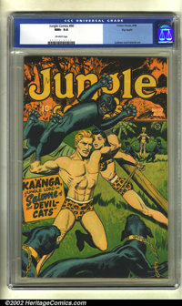 Jungle Comics #80 Big Apple pedigree (Fiction House, 1946) CGC NM+ 9.6 Off-white pages. Here is an unusually nice copy o...