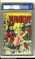 Golden Age (1938-1955):Humor, Junior #11 (Fox Features Syndicate, 1948) CGC NM+ 9.6 Off-white to white pages. Al Feldstein created a memorable cover for t...