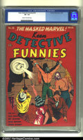 Golden Age (1938-1955):Adventure, Keen Detective Funnies #18 (Centaur, 1940) CGC VF- 7.5 Cream to off-white pages. Publisher Centaur led the way in bringing c...