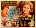 "Movie Posters:Adventure, Wee Willie Winkie (20th Century Fox, 1937). Half Sheet (22"" X 28"").Thought to be one of her best films, Shirley Temple star..."
