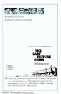 "Movie Posters:Drama, Last Picture Show, The (Columbia, 1971). One Sheet (27"" X 41""). Peter Bogdanovich's stunning look at small-town life in Texa..."