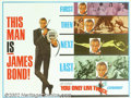 "Movie Posters:Action, You Only Live Twice (United Artists, 1967). Subway (45"" X 59""). Near Mint, Rolled. ..."