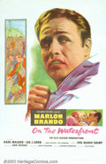 "Movie Posters:Drama, On the Waterfront (Columbia, 1954). One Sheet (27"" X 41""). One ofthe most important films of the 1950s had Brando in the he..."