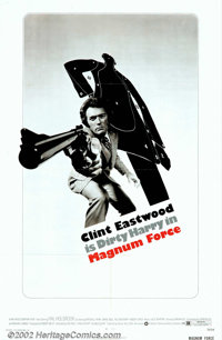 """Magnum Force (Warner Brothers, 1973). One Sheet (27"""" X 41""""). The domestic release one sheet to the further adv..."""