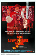 """Movie Posters:Western, For a Few Dollars More (United Artists, 1967). One Sheet (27"""" X41""""). Clint Eastwood's second appearance as the Man With No ..."""