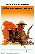 """Movie Posters:Western, Outlaw Josey Wales, The (Warner Brothers, 1976). One Sheet (27"""" X41""""). One of Eastwood's more memorable post """"spaghetti wes..."""