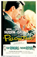 """Movie Posters:Comedy, Pillow Talk (Universal, 1959). One Sheet (27"""" X 41""""). In this, thefirst teaming of Doris Day and Rock Hudson, the two share..."""
